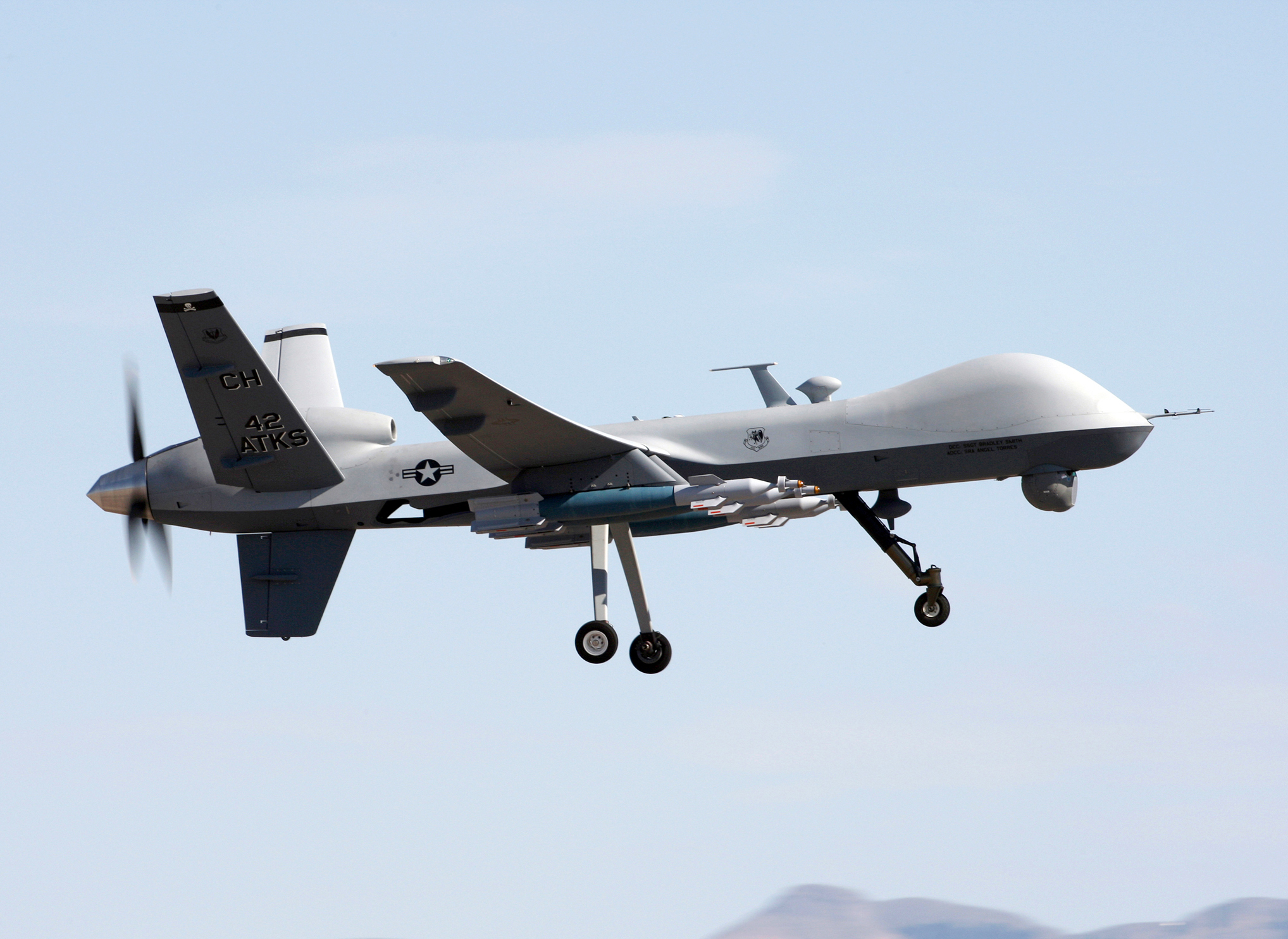 drone missiles with Mq 9 Reaper Drone on Win A Lego Ninjago For Your Lego Lover Giveaway likewise Watch in addition Explosion Rocks U S Yemeni Military Base likewise Futuristic Concept Aircraft Carriers besides Is Obama Moving To Escalate The War In Pakistan.