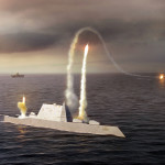 USS Zumwalt Destroyer