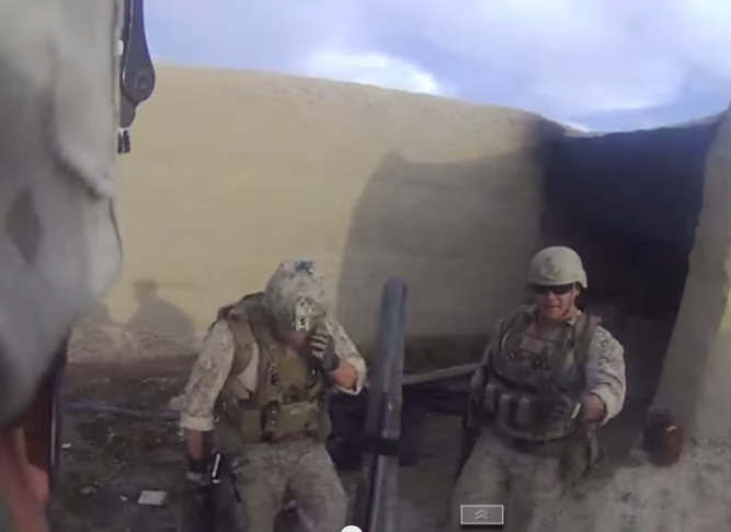 Marine Survives Headshot from Afghan Sniper
