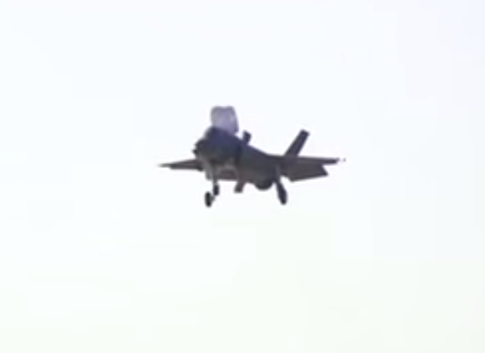F-35B FIGHTER JET HOVERS OVER FORT WORTH FOR THE FIRST TIME