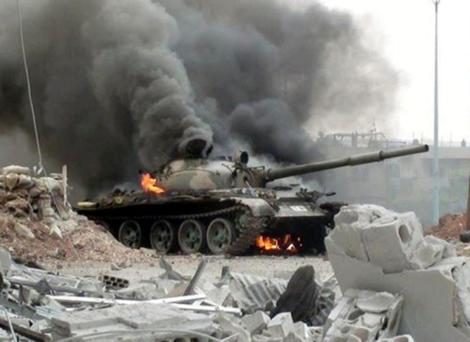 Free-Syrian-Army-Ambushes-Syrian-Tanks