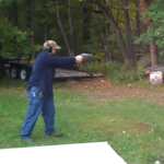 One Trigger Pull of the Smith and Wesson 500 and Watch