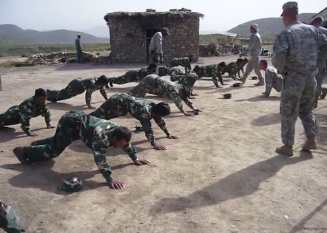 Iraqi-Jumping-Jacks,-Afghani-Pushups,-or-Afghani-Jumping-Jacks