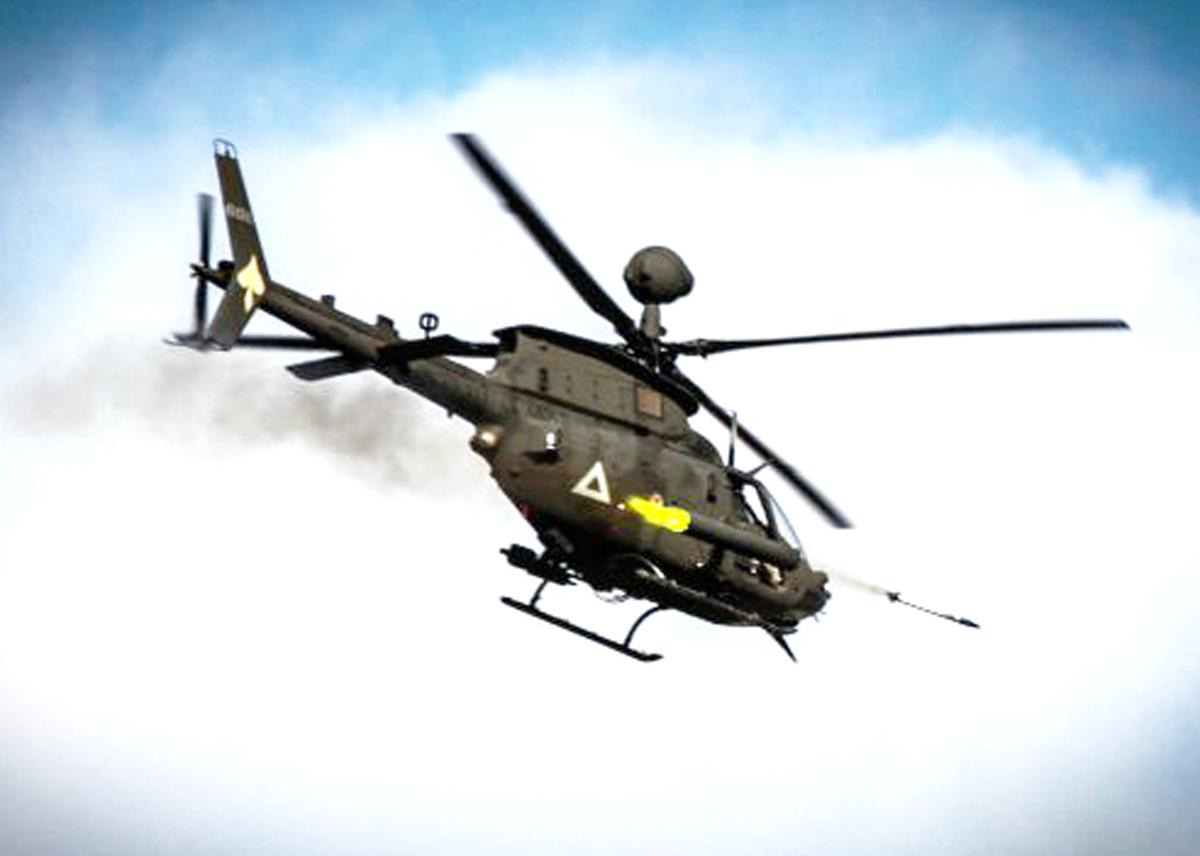 Kiowa Helicopter Weapons